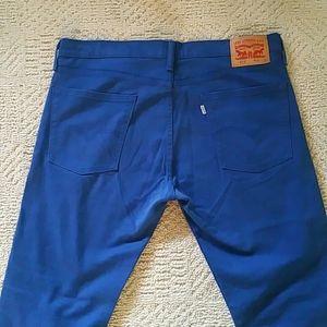 """Men's Royal Blue 513 Levi's Jeans/Pants 37"""" X 32"""""""